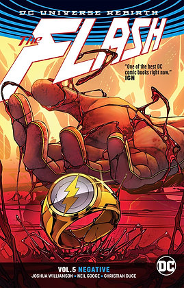 FLASH TP VOL 05 NEGATIVE REBIRTH