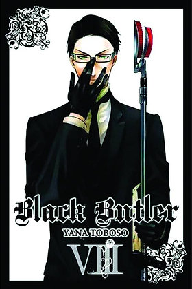 BLACK BUTLER GN VOL 08 (NEW PTG)