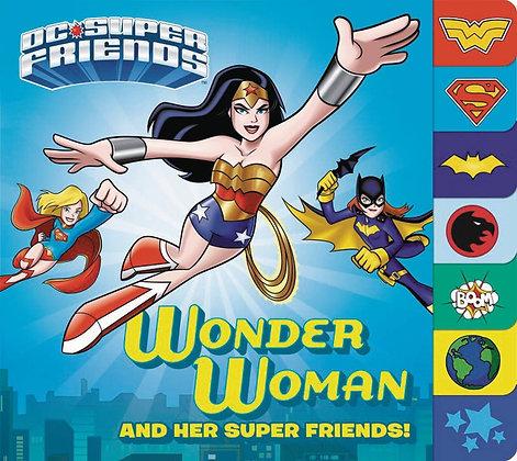 DC SUPER FRIENDS WONDER WOMAN & SUPER FRIENDS BOARD BOOK