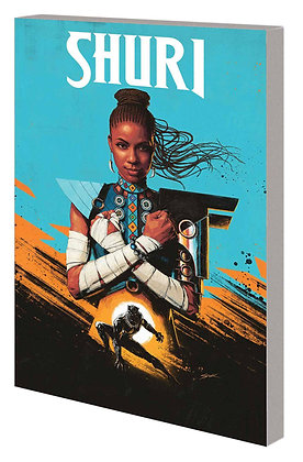 SHURI TP VOL 01 THE SEARCH FOR THE BLACK PANTHER