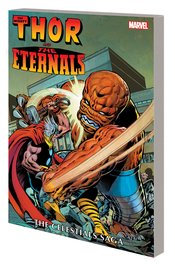 THOR AND ETERNALS TP CELESTIALS SAGA