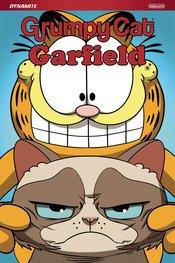 GRUMPY CAT GARFIELD HC