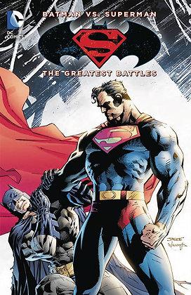 BATMAN VS SUPERMAN THE GREATEST BATTLES TP