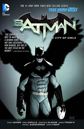 BATMAN TP VOL 02 THE CITY OF OWLS (N52)