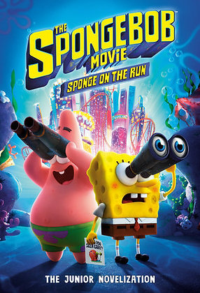 SPONGEBOB MOVIE LITTLE GOLDEN BOOK