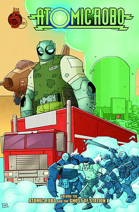 ATOMIC ROBO TP VOL 06 GHOST OF STATION X