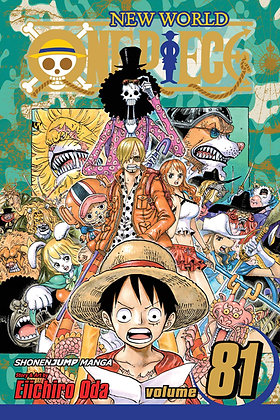 ONE PIECE GN VOL 81