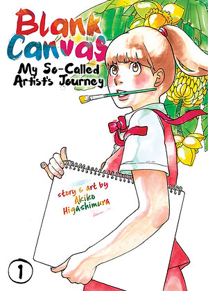 BLANK CANVAS MY SO-CALLED ARTISTS JOURNEY GN VOL 01