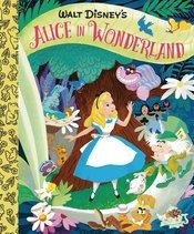 WALT DISNEYS ALICE IN WONDERLAND LITTLE GOLDEN BOARD BOOK