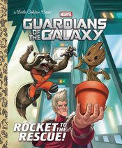 GUARDIANS OF THE GALAXY ROCKET TO THE RESCUE LITTLE GOLDEN BOOK
