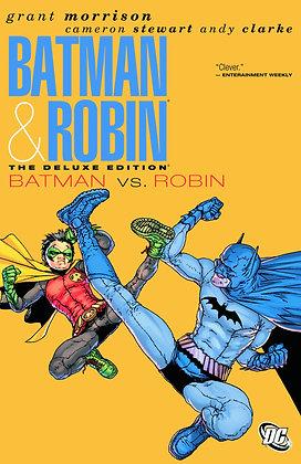 BATMAN AND ROBIN DELUXE HC VOL 02 BATMAN VS ROBIN