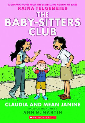 BABY SITTERS CLUB COLOR ED GN VOL 04 CLAUDIA & MEAN JANINE