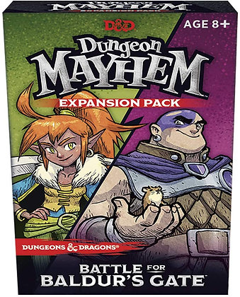 DUNGEONS & DRAGONS: DUNGEON MAYHEM BATTLE FOR BALDURS GATE D&D