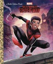 MILES MORALES SPIDER-MAN LITTLE GOLDEN BOOK
