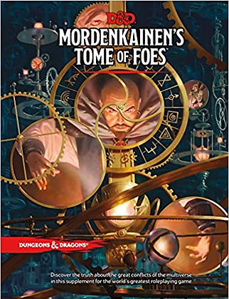 D&D DUNGEONS & DRAGONS MORDENKAINENS TOME OF FOES