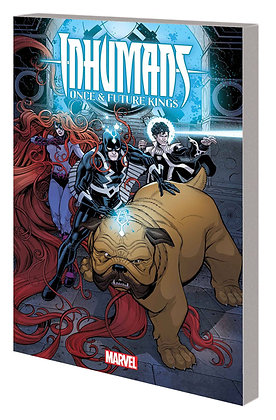 INHUMANS ONCE AND FUTURE KINGS TP