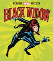 BLACK WIDOW MY MIGHTY MARVEL FIRST BOOK BOARD BOOK