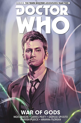 DOCTOR WHO 10TH HC VOL 07 WAR OF GODS