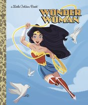 DC SUPER HEROES WONDER WOMAN LITTLE GOLDEN BOOK HC