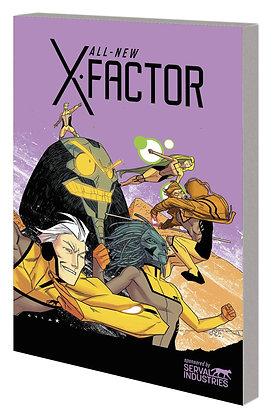 ALL NEW X-FACTOR TP VOL 03 AXIS