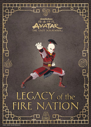 AVATAR LAST AIRBENDER LEGACY OF FIRE NATION HC