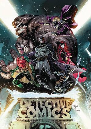 BATMAN DETECTIVE TP VOL 01 RISE OT BATMEN (REBIRTH)