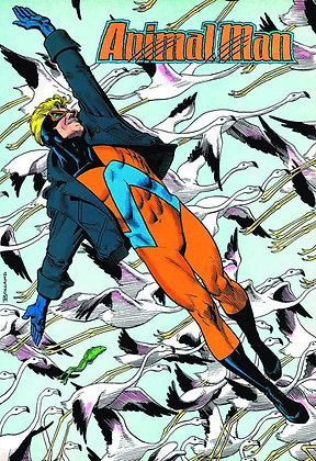 ANIMAL MAN TP VOL 07 RED PLAGUE