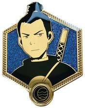 AVATAR THE LAST AIRBENDER GOLDEN SOKKA ENAMEL PIN