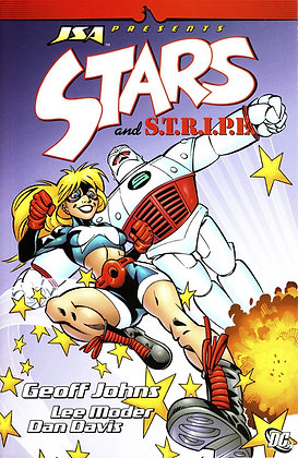 JSA PRESENTS STARS AND STRIPES TP VOL 01