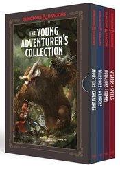 YOUNG ADVENTURERS COLLECTION D&D 4 BOOK BOX SET