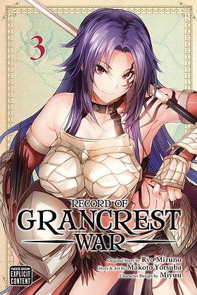 RECORD OF GRANCREST WAR GN VOL 03 (MR)