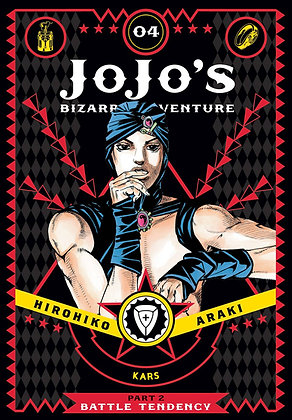 JOJOS BIZARRE ADVENTURE 2 BATTLE TENDENCY HC VOL 04