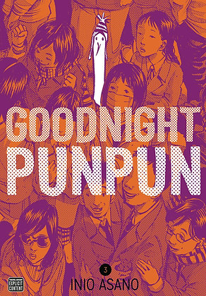 GOODNIGHT PUNPUN GN VOL 03 INIO ASANO (MR)