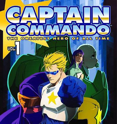 CAPTAIN COMMANDO GN VOL 01 (OF 2)