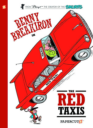 BENNY BREAKIRON HC VOL 01 RED TAXIS