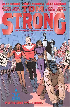 TOM STRONG TP BOOK ONE