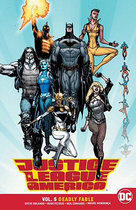JUSTICE LEAGUE OF AMERICA TP VOL 05 DEADLY FABLE