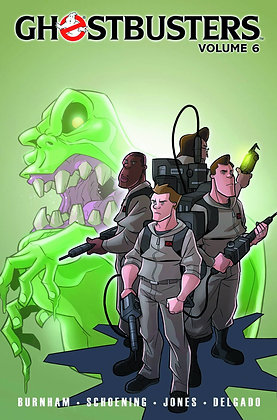 GHOSTBUSTERS ONGOING TP VOL 06 TRAINS BRAINS AND GHOSTLY REMAINS