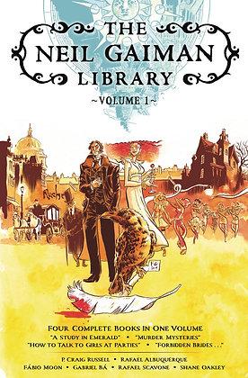 NEIL GAIMAN LIBRARY EDITION HC VOL 01
