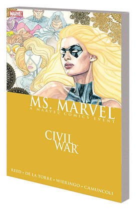 CIVIL WAR MS MARVEL TP