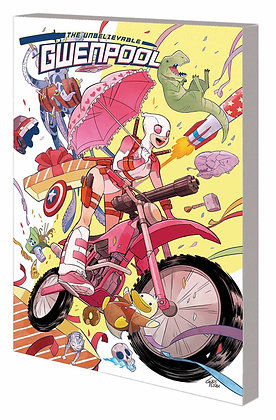 UNBELIEVABLE GWENPOOL TP VOL 01 BELIEVE IT