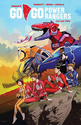 GO GO POWER RANGERS TP VOL 02