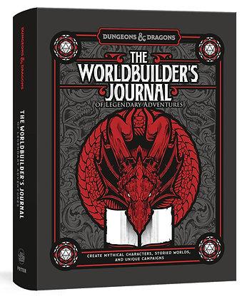 D&D WORLDBUILDER`S JOURNAL OF LEGENDARY ADVENTURES HC