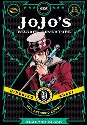 JOJOS BIZARRE ADVENTURE 1 PHANTOM BLOOD HC VOL 02