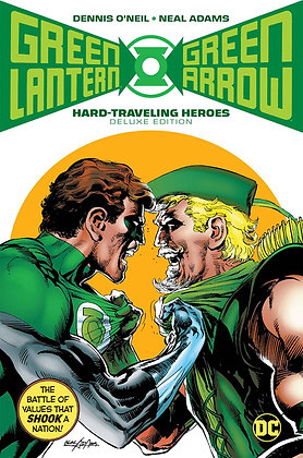 GREEN LANTERN GREEN ARROW HARD TRAVELING HEROES DELUXE HC