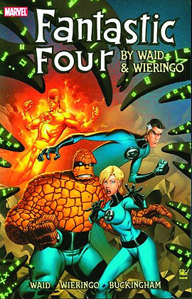 FANTASTIC FOUR BY WAID & WEIRINGO ULTIMATE COLLECTION TP BOOK 01