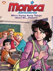MONICA ADVENTURES TP VOL 03 WHOS SAYING NASTY THINGS ABOUT ME ONLINE