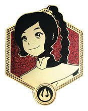 AVATAR THE LAST AIRBENDER GOLDEN TY LEE ENAMEL PIN
