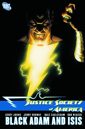 JUSTICE SOCIETY OF AMERICA JSA BLACK ADAM AND ISIS TP