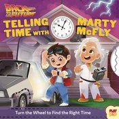 BACK TO THE FUTURE TELLING TIME WITH MARTY MCFLY BOARD BOOK
